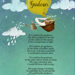 The Gardener children poem stars wish spark