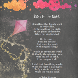 Kites in the night magical stings; poetry for kids