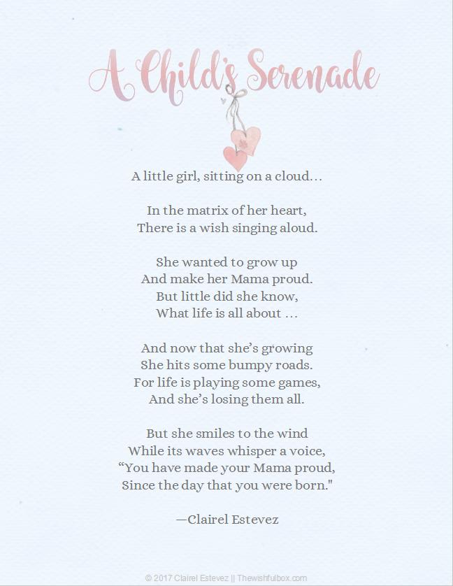 A Childs Serenade Make Mama Proud
