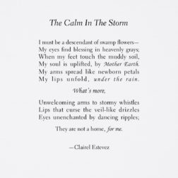 poems and poetry about the rain; pluviophile